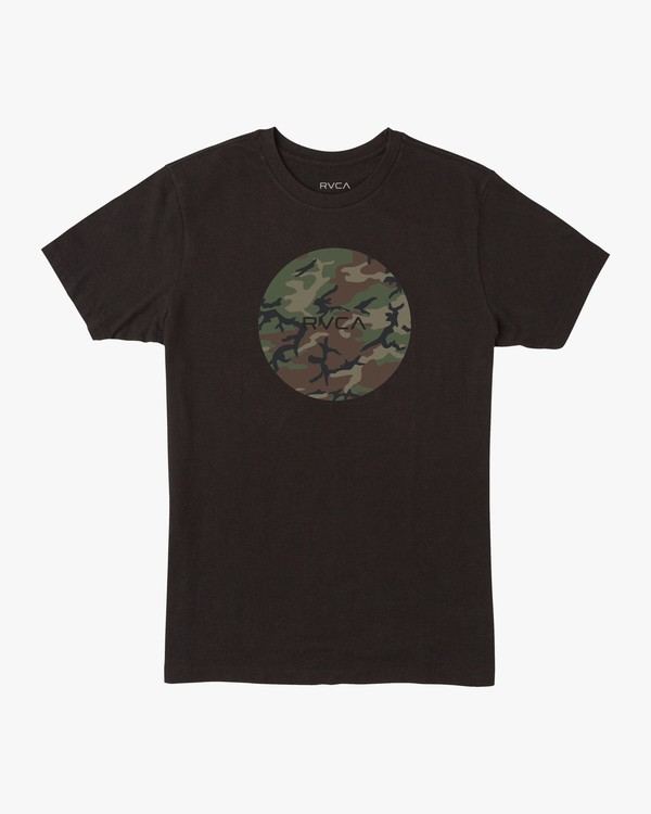 0 MOTORS SHORT SLEEVE TEE Black AVYZT00236 RVCA