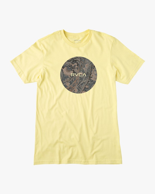 0 MOTORS SHORT SLEEVE TEE  AVYZT00236 RVCA