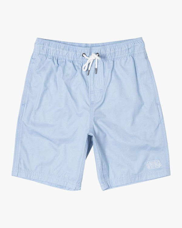0 Boys OPPOSITES ELASTIC SHORT Blue B1051ROE RVCA