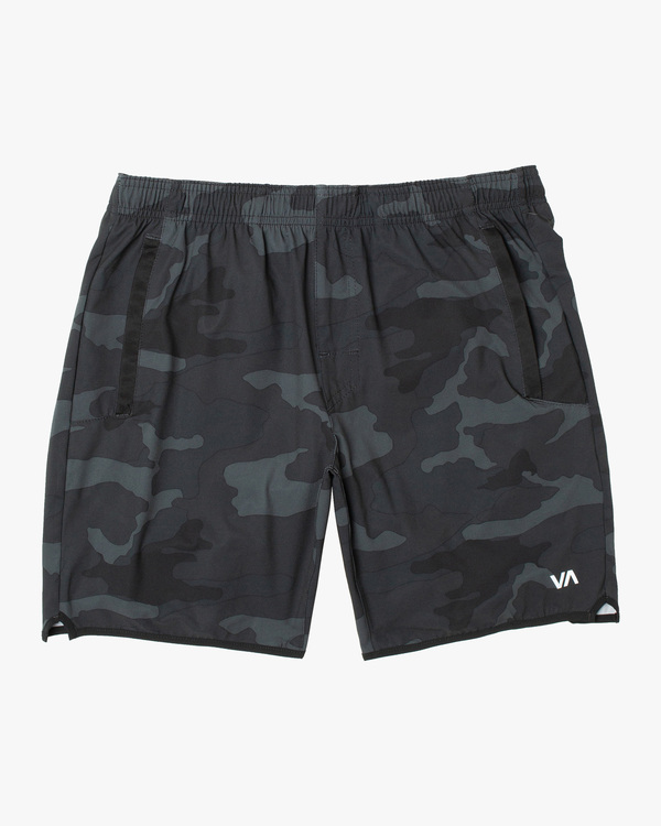 "0 BOYS YOGGER STRETCH SHORT 15"" Black B2012RYS RVCA"