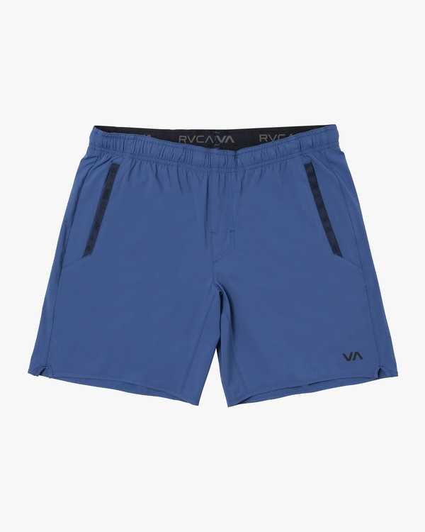 0 BOYS YOGGER STRETCH SHORT Blue B2012RYS RVCA