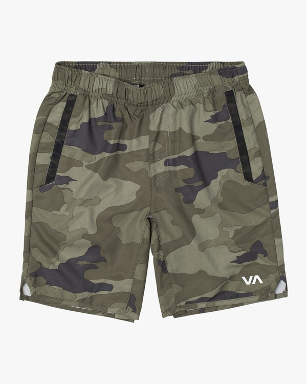 0 BOYS YOGGER III SHORT Grey B2023RYG RVCA