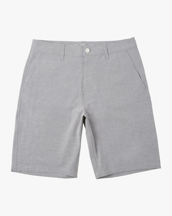 "0 Boy's Balance Hybrid Shorts 17"" Orange B2031RBH RVCA"