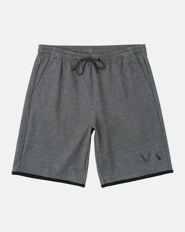 "0 VA Sport | Boy's VA Sport Athletic Shorts 20"" Grey B2063RSS RVCA"