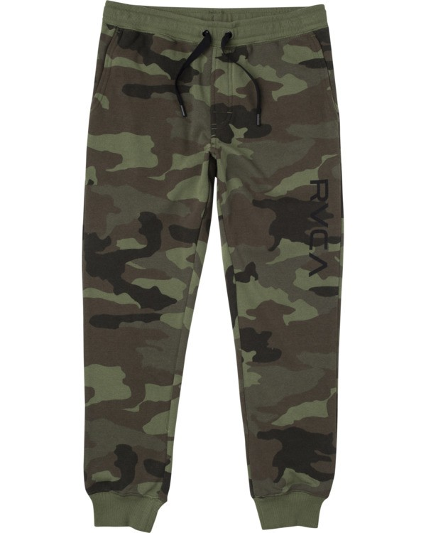 0 BOYS RIPPER II SWEATPANT Green B301URRI RVCA