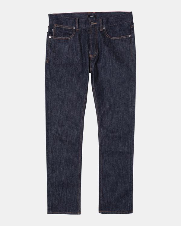 0 Boy's Daggers Slim Fit Denim Jeans Blue B3023RDA RVCA