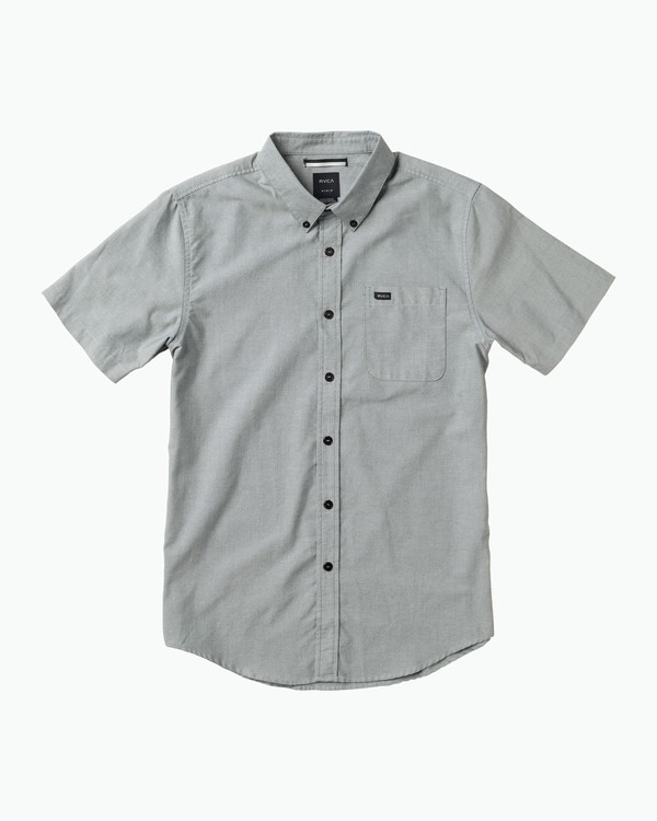 0 Boy's That'll Do Oxford Shirt White B3504TDS RVCA