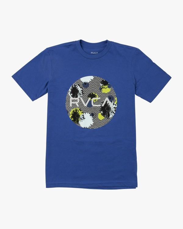0 Boys MOTORS FILL T-SHIRT Blue B4011RMO RVCA