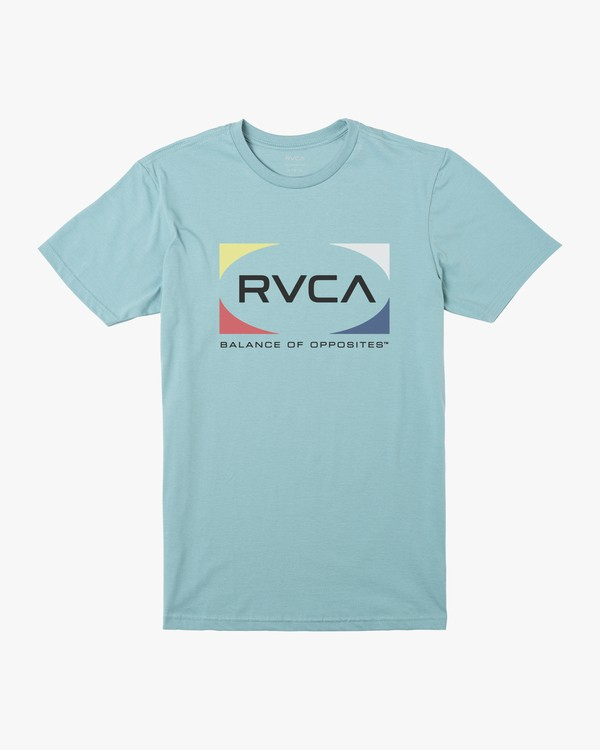 0 Boys QUAD SHORT SLEEVE T-SHIRT Brown B4012RQU RVCA