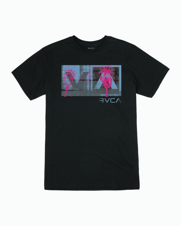 0 Boys BALANCE BOX SHORT SLEEVE T-SHIRT Black B4013RBB RVCA