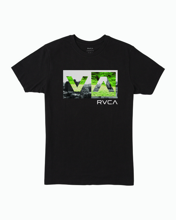 0 Boy's Balance Box T-Shirt Black B401WRBB RVCA