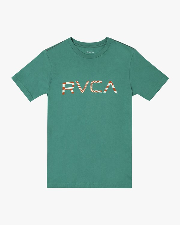 0 Boys BIG MAYDAY SHORT SLEEVE T-SHIRT Green B4062RBM RVCA