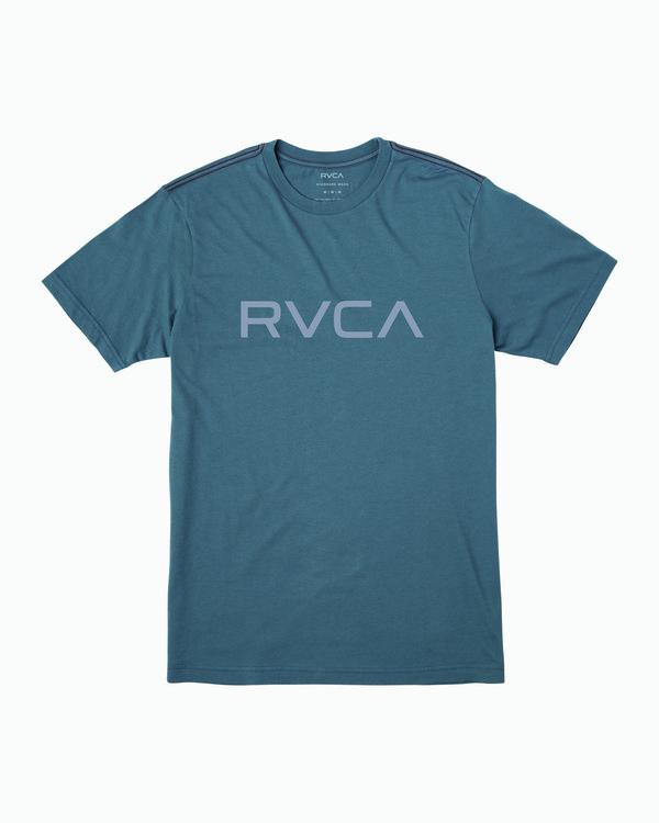 0 Boy's Big RVCA T-Shirt Red B406WRBI RVCA
