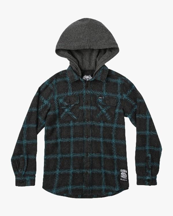 0 Good Hombre Flannel Shirt  B503QRGO RVCA