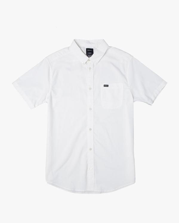 0 Boys That'll Do Stretch Short Sleeve Shirt White B525TRTS RVCA