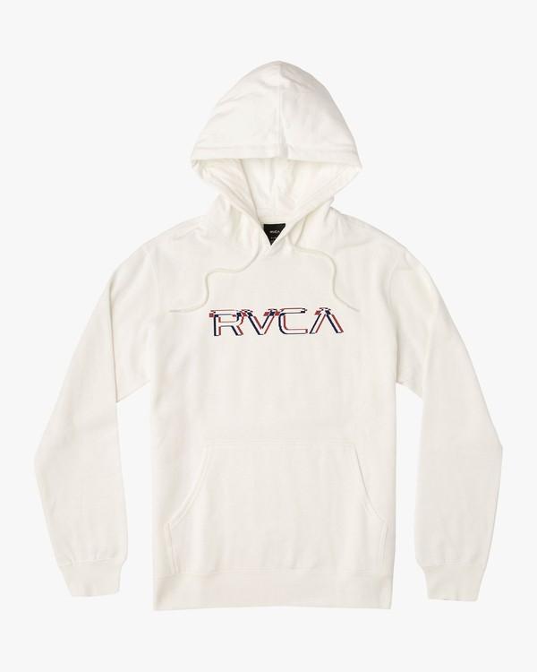 0 Boy's Logo Pack Hoodie White B601VRLP RVCA