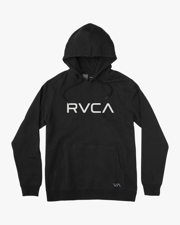 0 Boy's Big RVCA Hoodie Black B611VROB RVCA