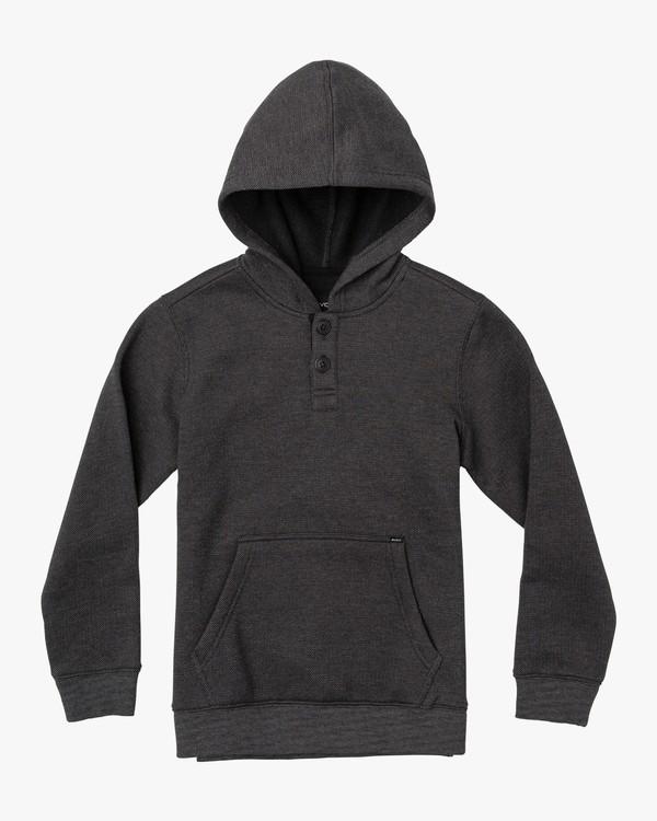 0 Boy's Vista Hoodie Black B627VRVI RVCA