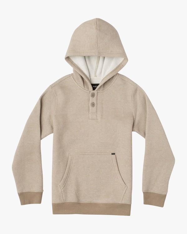 0 Boy's Vista Hoodie Grey B627VRVI RVCA