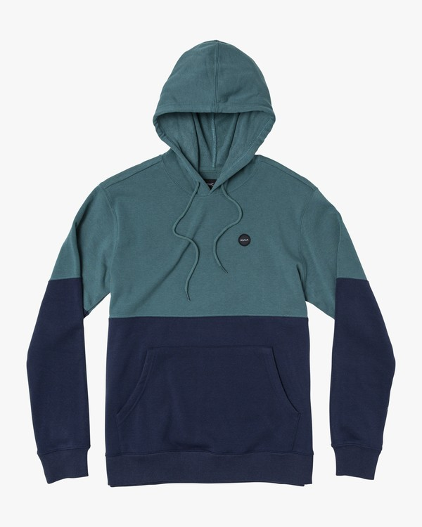 0 Boy's Carlisle Colorblocked Hoodie Grey B683WRCR RVCA