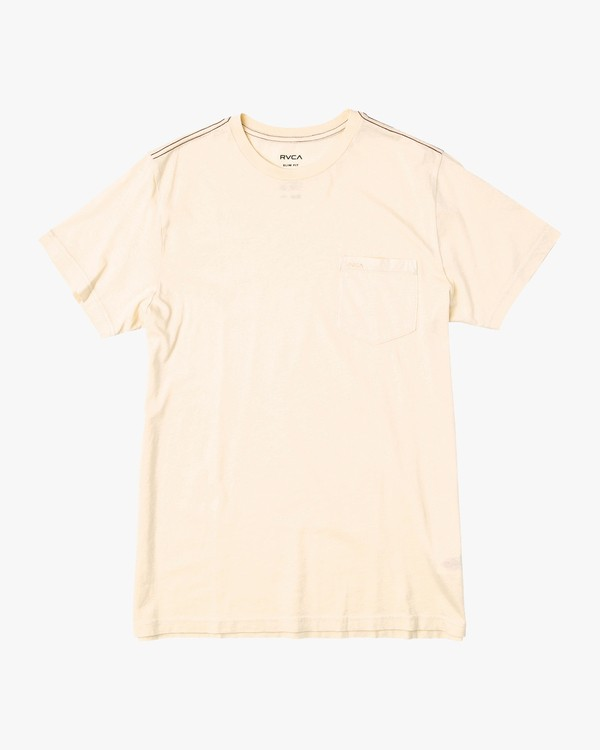 0 Boy's PTC 2 Pigment T-Shirt Yellow B901NRPP RVCA