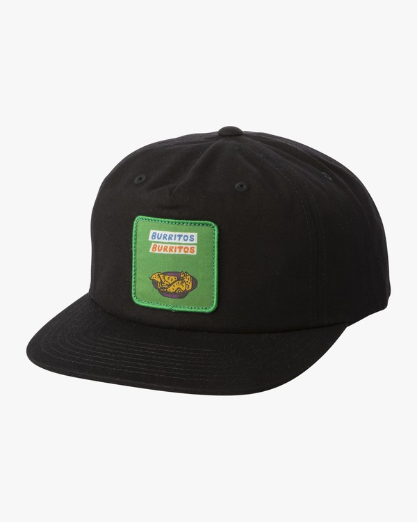 0 BOY'S HOT FUDGE SNAPBACK CAP Black BAHW1RHF RVCA