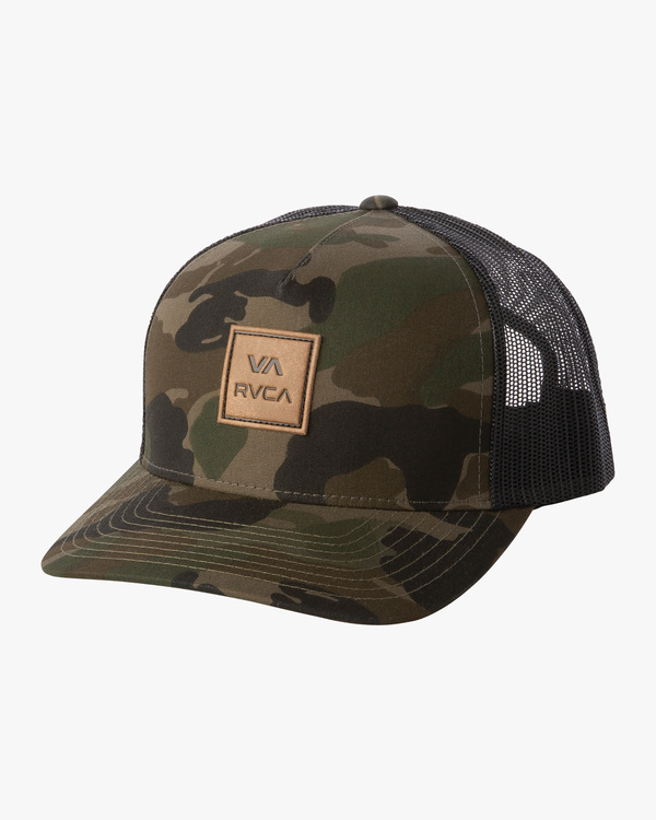 0 BOYS VA ATW CURVED HAT Brown BAHW3RVA RVCA