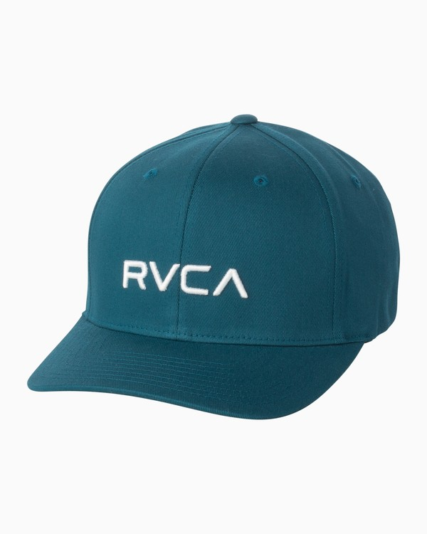 0 Boy's RVCA Flexfit Hat Multicolor BAHWSRFF RVCA