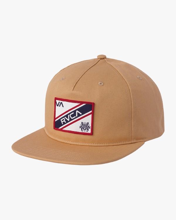 0 Boy's Places Snapback Hat Grey BAHWSRNP RVCA