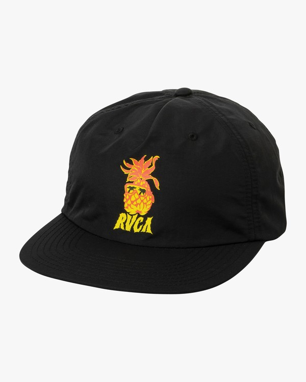 0 Boy's Graphic Pack Snapback Hat Black BAHWTRGP RVCA