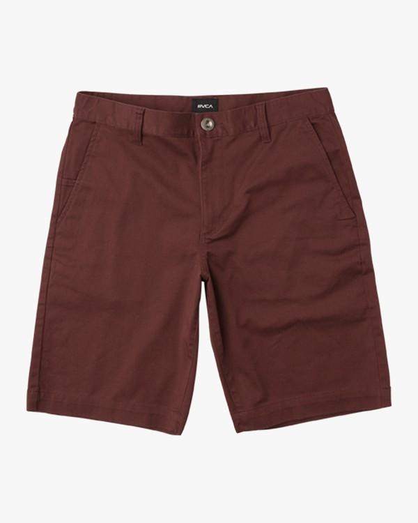 0 Boys Weekday Stretch Shorts  BC201WST RVCA