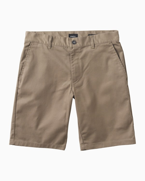 0 Boys Weekday Stretch Shorts Grey BC201WST RVCA