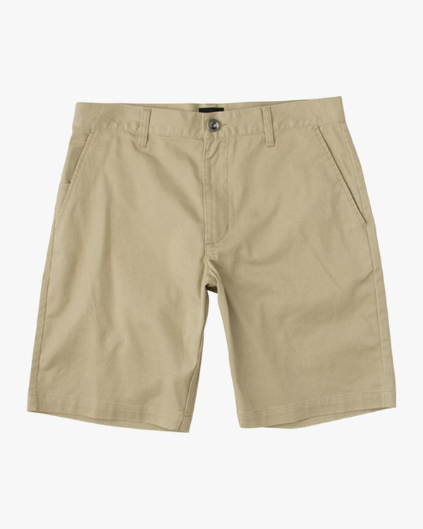 0 Boys Weekday Stretch Shorts Beige BC201WST RVCA