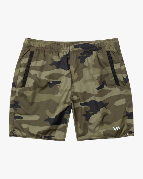"0 Boys YOGGER III SHORT 15"" Grey BL204YGR RVCA"