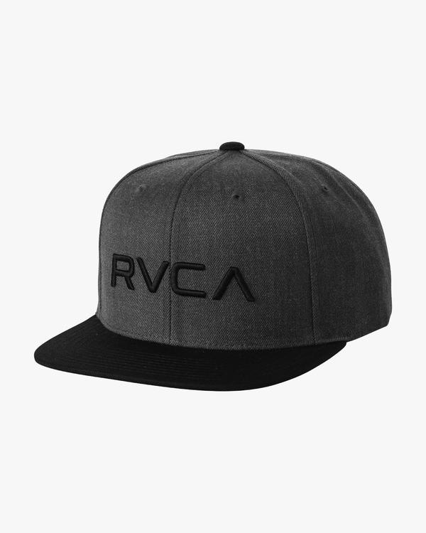 0 RVCA TWILL SNAPBACK  F5CPGSRVF7 RVCA