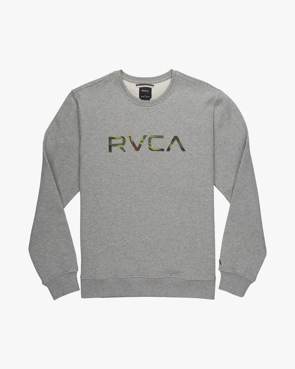0 BIG RVCA CREW  L1CRRARVF8 RVCA