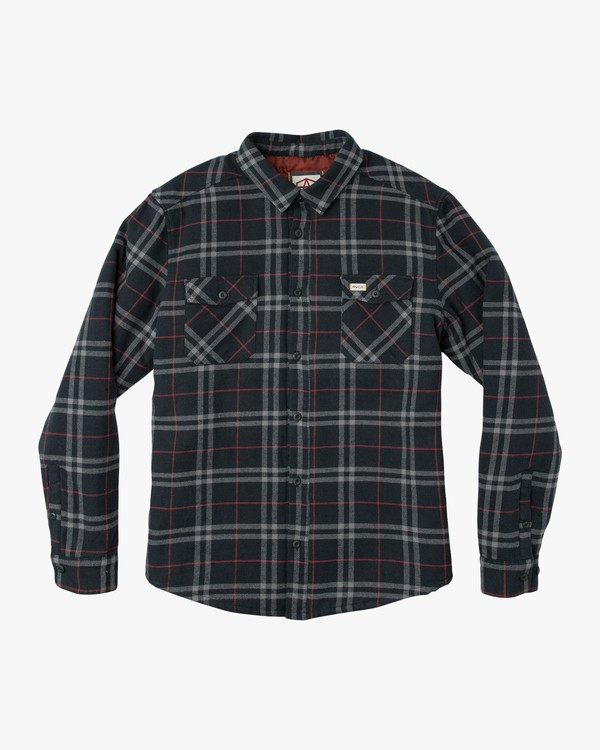 0 AR PLAID LS Blue L1SHRBRVF8 RVCA