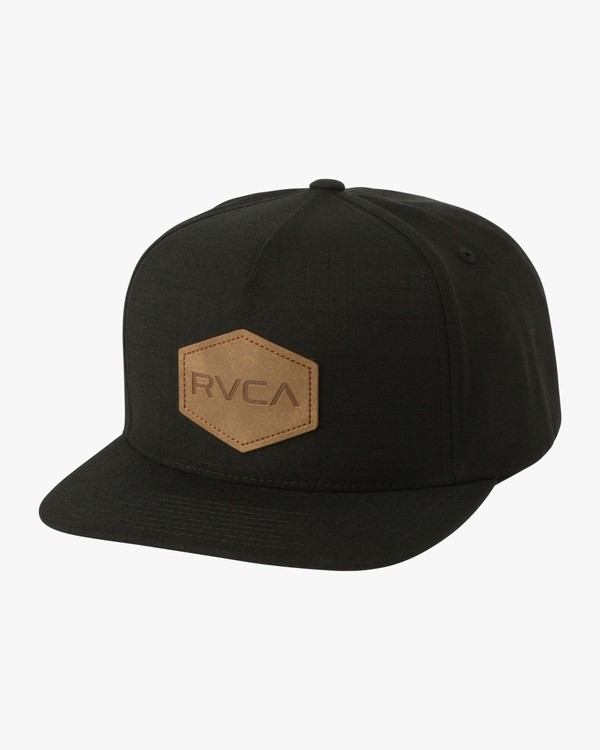 0 COMMONWEALTH DELUXE Black L5CPRBRVF8 RVCA