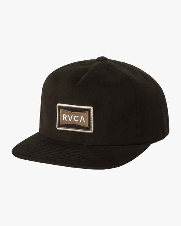 0 Pace - Cap for Men Black L5CPRTRVF8 RVCA