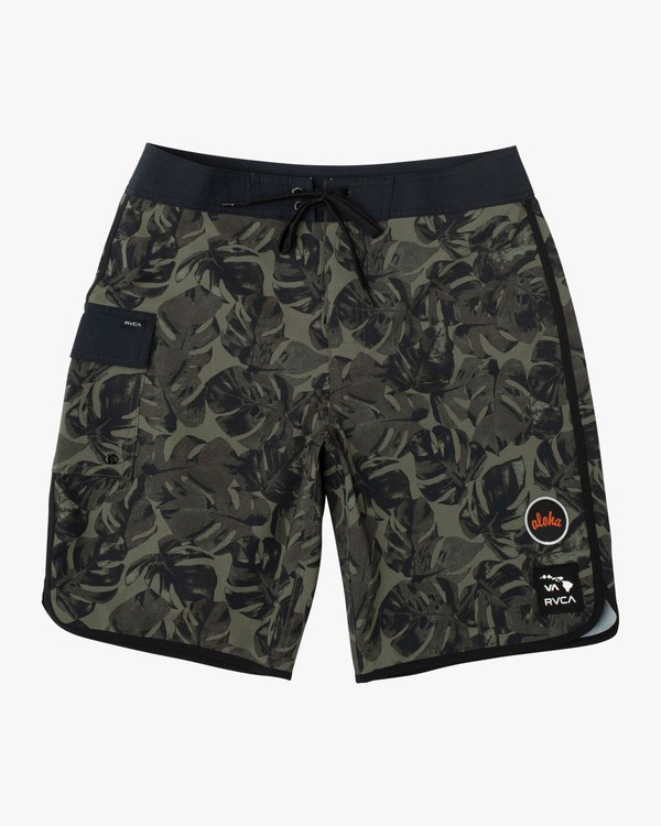 0 Aloha Leaf Trunk Brown M122VRAL RVCA