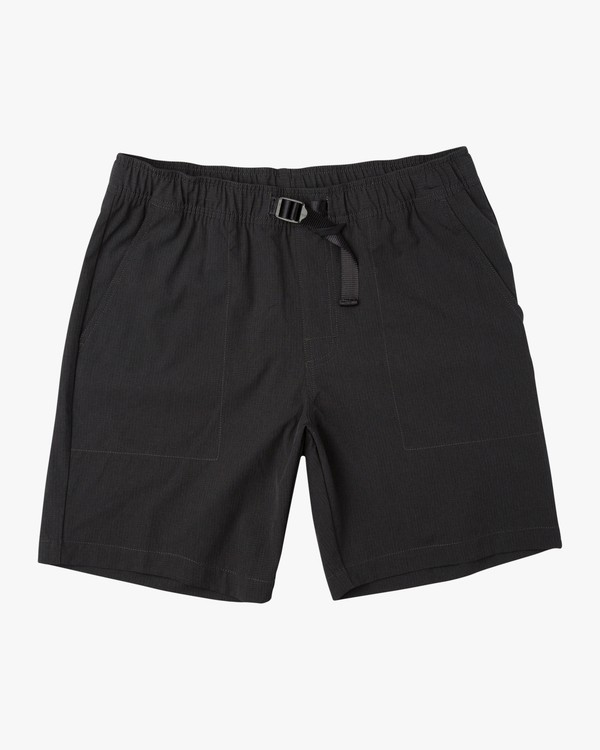 "0 All Time Arch II 18"" Hybrid Short Black M201URAH RVCA"
