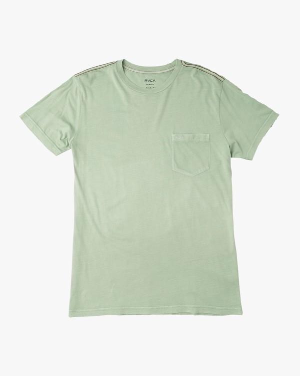 0 Ptc 2 Pigment T-Shirt Green M3910PTC RVCA