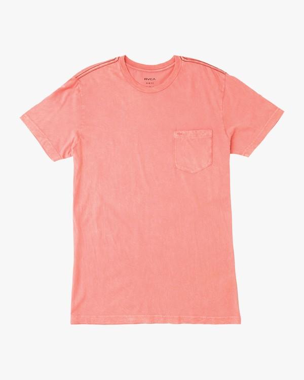 0 Ptc 2 Pigment T-Shirt Pink M3910PTC RVCA