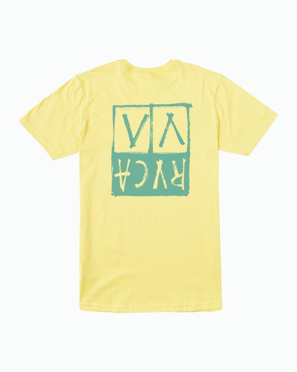 0 Unplugged TEE Yellow M401WRUN RVCA