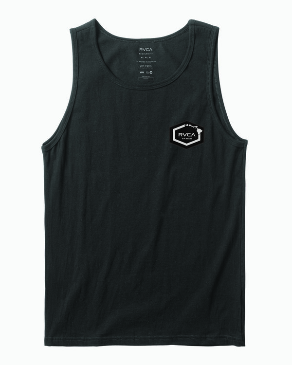 0 TIGER CAM TANK TOP Black M4021RTI RVCA