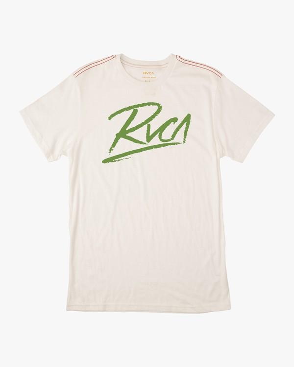 0 Scribe T-Shirt  M403NRSC RVCA