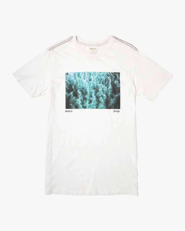 0 Zak Noyle Washer T-Shirt White M422VRNW RVCA