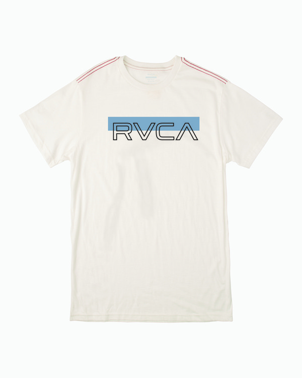 0 LAIRD SHORT SLEEVE TEE White M4303RLA RVCA