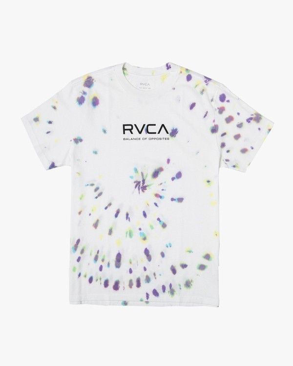 0 Balance RVCA T-Shirt White M431VRBR RVCA