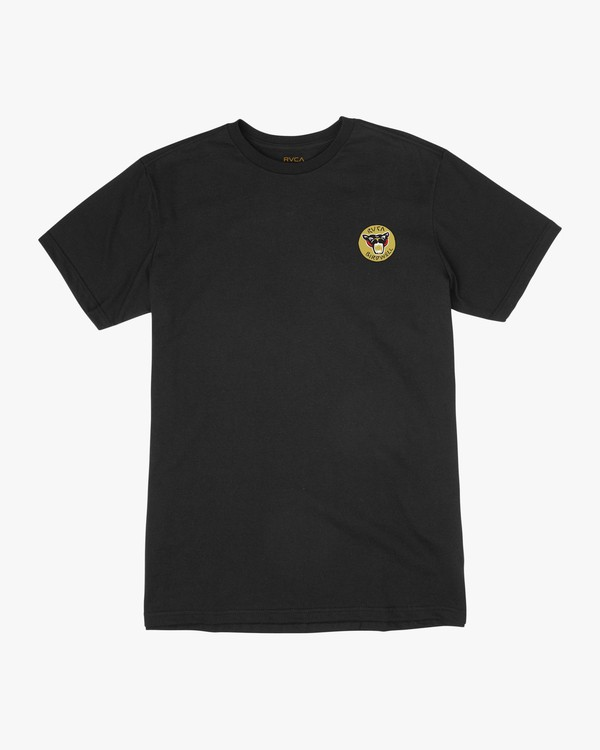 0 Birdwell PM NK Patch T-Shirt Black M434PRPK RVCA